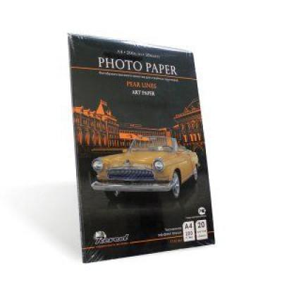 Фотобумага А4, тисненная груша, 200г, 20л, струйн печать, (Revcol Premium) 5760 dpi