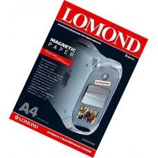 Магнитный материал А4, 660г, матовый, 2л, струйн печать, вод/пигмент чернила (Lomond) /2020346