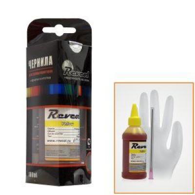 Чернила универсальные для Epson, (Revcol), Yellow, Dye, 100мл.