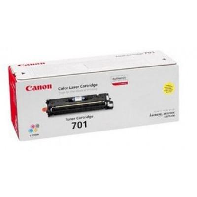 Картридж Canon 701Y - LBP 5200 желтый