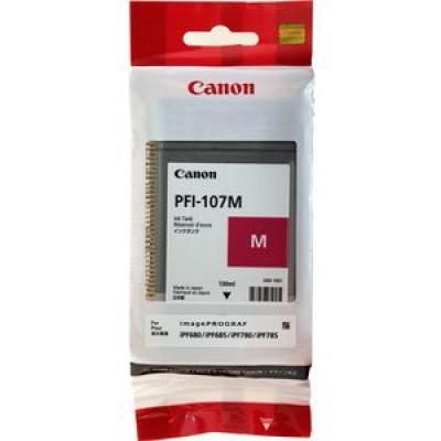 Картридж Canon PFI-107M - iPF680/685/780/785 пурпурный (130 мл.)