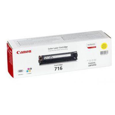 Картридж Canon 716Y - LBP-5050/5970/5975/MF-8030/8050 желтый