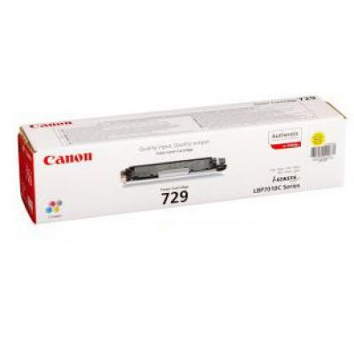 Картридж Canon 729Y - i-SENSYS LBP7010C/LBP7018C