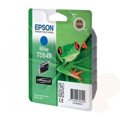 Картридж Epson T0549 - St. Photo R800 синий