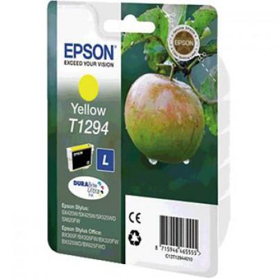 Картридж Epson T1294 - Stylus SX230/235W/SX420W/SX425W/BX305F желтый