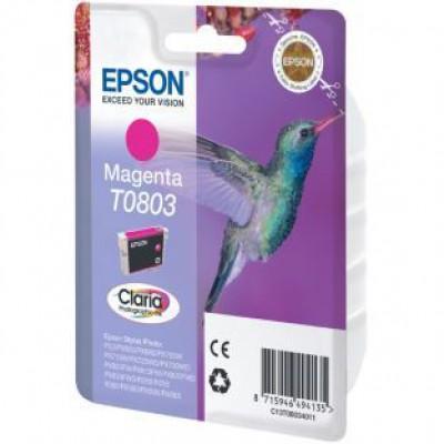 Картридж Epson T0803 - St. P50/PX660/PX720WD/PX820FWD пурпурный