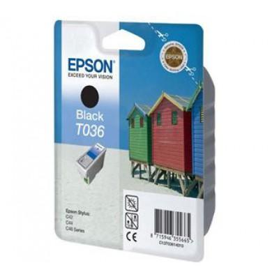Картридж Epson T0361 - St. C42/44 черный