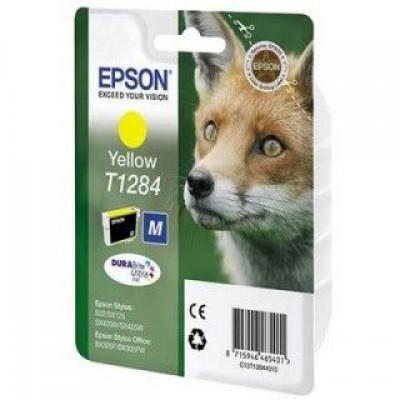 Картридж Epson T1284 - Stylus S22/SX125/SX130/SX230/SX420W/SX425W/BX305F желтый