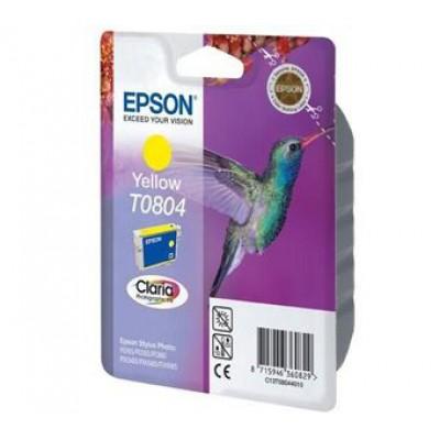 Картридж Epson T0804 - St. P50/PX660/PX720WD/PX820FWD желтый