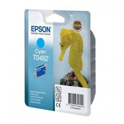 Картридж Epson T0482 - St. Photo R200/300/RX500/620 голубой