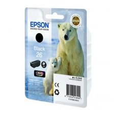 Картридж Epson 26XLBk - XP600/700/800 черный