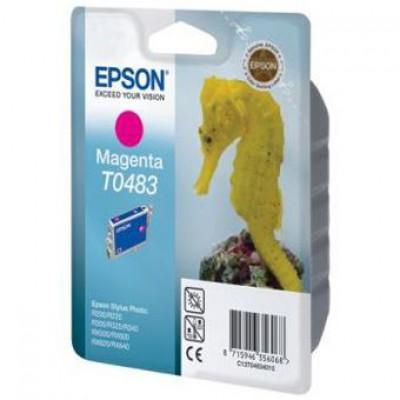 Картридж Epson T0483 - St. Photo R200/300/RX500/620 пурпурный