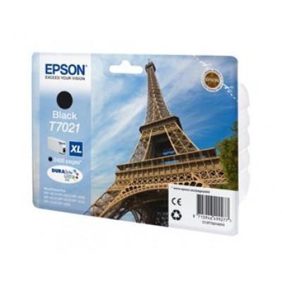 Картридж Epson T7021 - WorkForce Pro-4015/4025/4095 черный