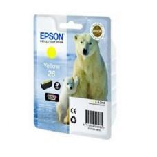 Картридж Epson 26Y - XP600/7/8 желтый