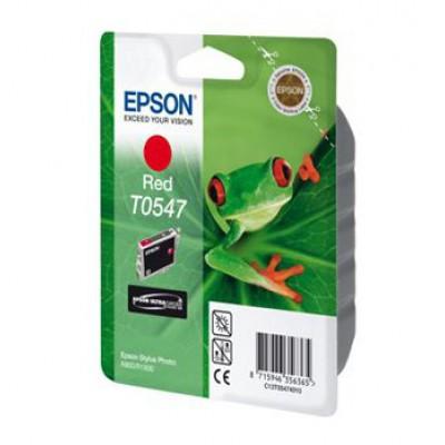 Картридж Epson T0547 - St. Photo R800 красный