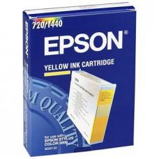 Картридж Epson S020122 - St. Col 3000 желтый