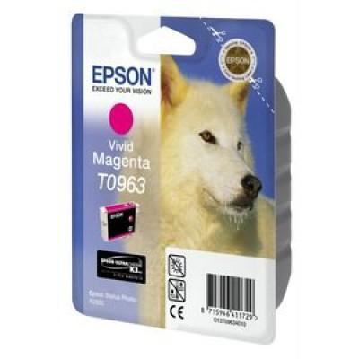 Картридж Epson T0963 - St. Photo R2880 пурпурный