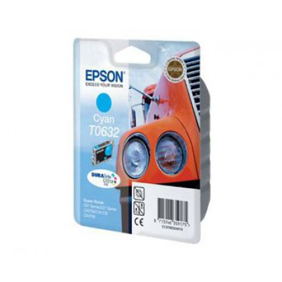 Картридж Epson T0632 - St. C67/C87/CX3700/4100/4700 голубой