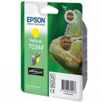 Картридж Epson T0344 - St. Photo 2100 желтый