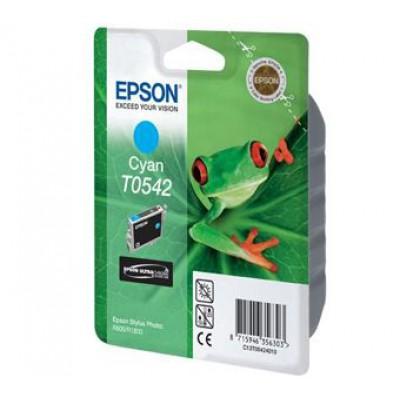 Картридж Epson T0542 - St. Photo R800 голубой