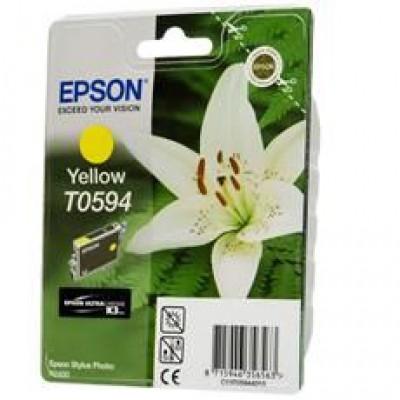 Картридж Epson T0594 - St. Photo R 2400 желтый
