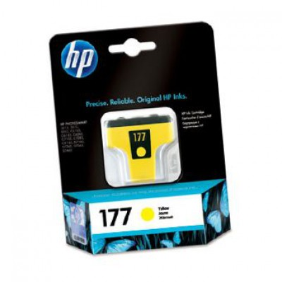 Картридж HP (177) C8773HE - Photosmart C5183/C7183/C7283 желтый