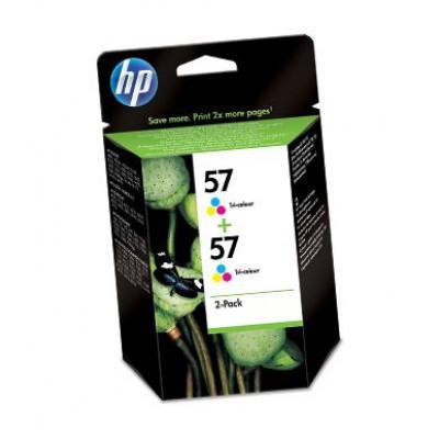 Картридж HP (57) C9503AE - DJ 5550 цветной (2-я упаковка)