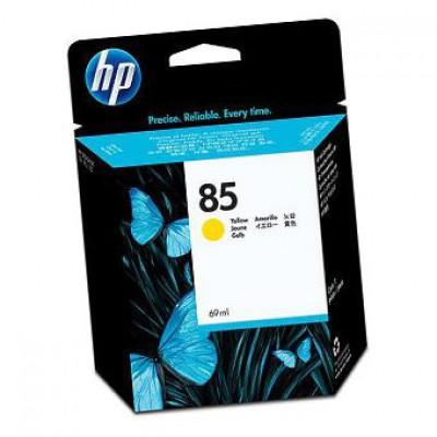 Печатающая головка HP (85) C9422A - Designjet 130 желтая