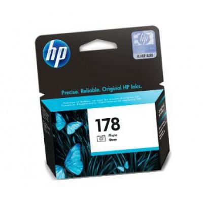 Картридж HP (178) CB317HE - Photosmart C5383/C6383 фото-черный