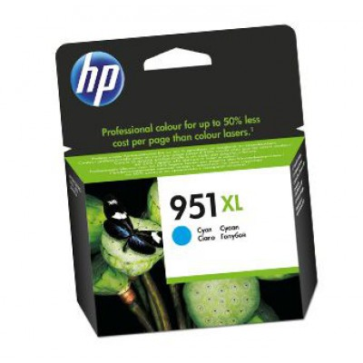 Картридж HP (951XL) CN046AE - OfficeJet Pro 276w/251dw/8100/8600/8610/8620 голубой (1500к)