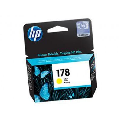 Картридж HP (178) CB320HE - Photosmart C5383/C6383/D5463 желтый