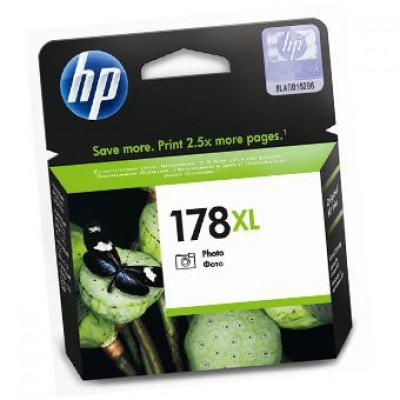 Картридж HP (178XL) CB322HE - Photosmart C5383/C6383/D5463 фото-черный