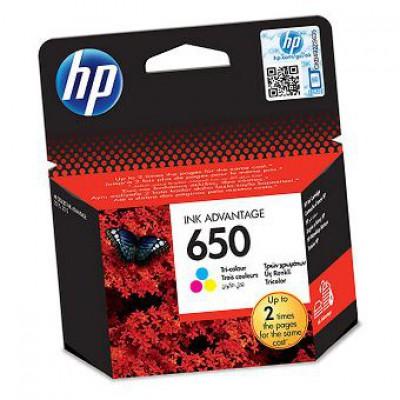 Картридж HP (650) CZ102AE - Deskjet 2515/2516/2545/3515 цветной (200к)