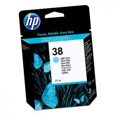 Картридж HP (38) C9418A - Photosmart Pro B9180 светло-голубой