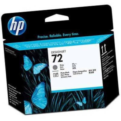 Печатающая головка HP (72) C9380А - DesignJet-T1100/T1120 серая и фото-черная