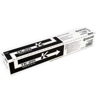 Тонер-картридж Kyocera Mita TK-895K - FS-C8020MFP/C8025MFP/C8520MFP/C8525MFP (12000К)