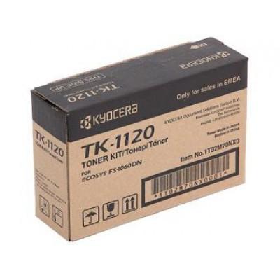 Тонер-картридж Kyocera Mita TK-1120 - FS-1060DN/FS-1025MFP/1125MFP (3000к)