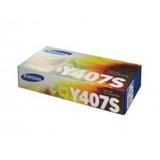 Картридж Samsung CLT- Y407S - CLP-320/325/CLX-3185 желтый (1000к)