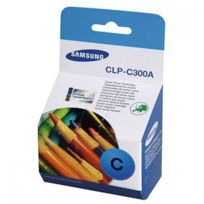 Картридж Samsung CLP-C300A - CLP-300/CLX-2160/3160 голубой (1000к)