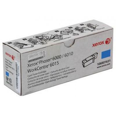 Картридж Xerox 106R01631 - Phaser 6000/6010 голубой (1000к)